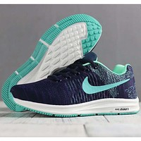 Nike men's and women's shoes knit fly line moon wear sports casual lightweight casual shoes F-SSRS-CJZX