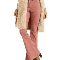 "Red Refuge ""Flare"" Colored Denim Jeans by Refuge at Charlotte Russe"
