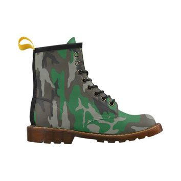 Mens NFA The Original Green Camo Combat Boots