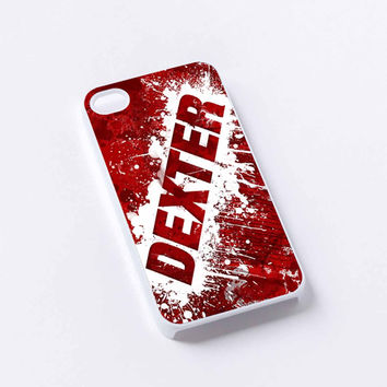 Red Blood Dexter iPhone 4/4S, 5/5S, 5C,6,6plus,and Samsung s3,s4,s5,s6
