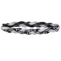 Under Armour Women's ArmourTM Braided Mini Headband (Graphite/White/Water, One Size Fits All)