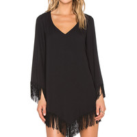 Show Me Your Mumu Rodeo Dress in Black Crisp