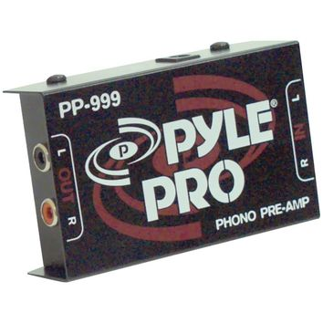 Pyle Pro(R) PP999 Phono Turntable Preamp