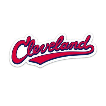 Sticker - Cleveland 216 Baseball