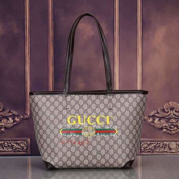 Gucci Women's Leather Handbag Tote Bag