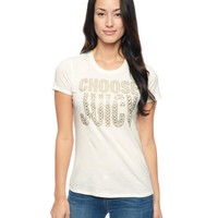 Choose Juicy Tee by Juicy Couture,