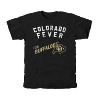 Colorado Buffaloes Chant Tri-Blend T-Shirt - Black