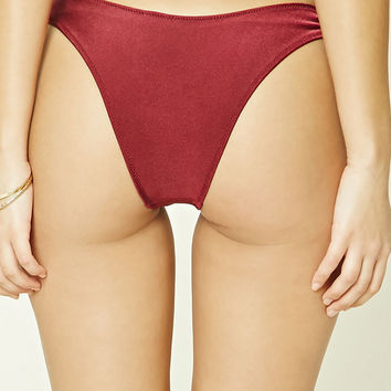 High-Cut Bikini Bottoms