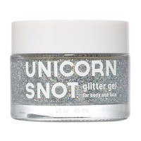 Unicorn Snot Silver Glitter Gel - For Face, Body & Hair