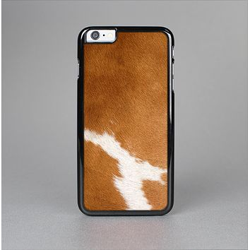 The Real Brown Cow Coat Texture Skin-Sert for the Apple iPhone 6 Skin-Sert Case
