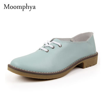 Genuine leather Oxford shoes for women flats new 2015 Fashion women shoes moccasins sapatos femininos sapatilhas zapatos mujer
