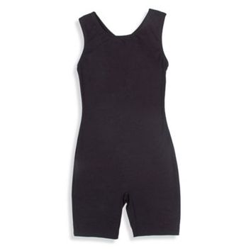 Jacques Moret Size 4/5T Tank Biketard in Black