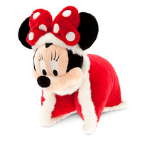 Santa Minnie Mouse Plush Pillow