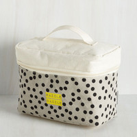 Travel Be Frill My Heart Makeup Bag Size NS by Disaster Designs from ModCloth