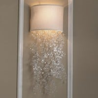 Dripping Crystal Shade Sconce 2 colors! - Shades of Light