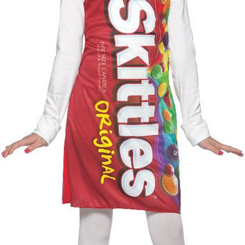 skittles tank dress tween/teen costume