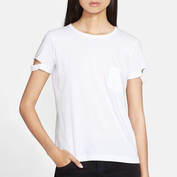 Women's Helmut Lang Cotton Pocket Tee,