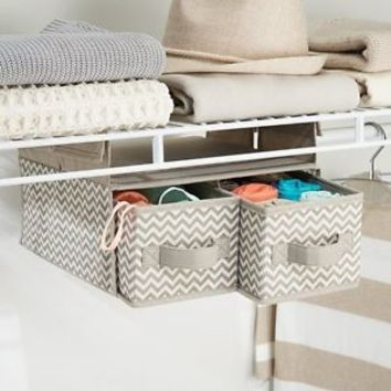 Hanging Basket Shelve Drawer Add-on Closet Organizer Underwear Baby Sock Belt