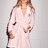 The Cozy Hooded Short Robe - Victoria's Secret