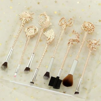 Game of Thrones Brush Set - Rose Gold