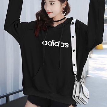 Trendsetter Adidas Women Top Sweater Pullover Hoodie