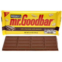 Mr. Goodbar Chocolate 4.4-Ounce Jumbo Candy Bars: 12-Piece Box