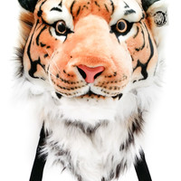 Viahart Authentic Tigerdome Orange Bengal Tiger Backpack