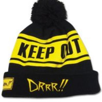 Beanie: Durarara!! - Keep Out - AnimePoko.com