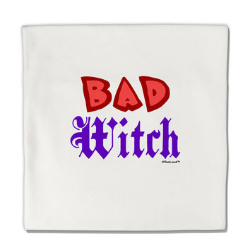 "Bad Witch Color Red Micro Fleece 14""x14"" Pillow Sham"