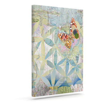 """Catherine Holcombe """"Miraculous Recovery"""" Butterfly Outdoor Canvas Wall Art"""