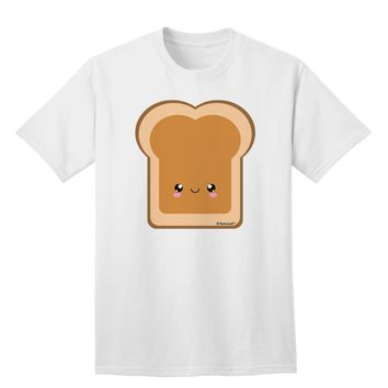 Cute Matching Design - PB and J - Peanut Butter Adult T-Shirt by TooLoud