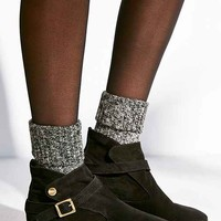 House Of Harlow Suede Hollie Boot- Black
