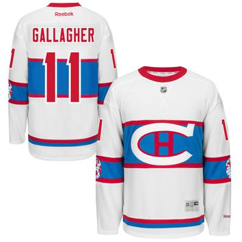 Brendan Gallagher Montreal Canadiens 2016 NHL Winter Classic Premier YOUTH Replica Jersey