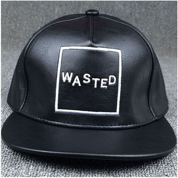 Wasted Leather Caps