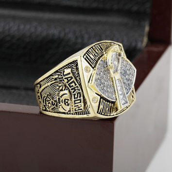 2002 Tampa Bay Buccaneers Super Bowl Football Championship Ring Size 10-13 With High Quality Wo