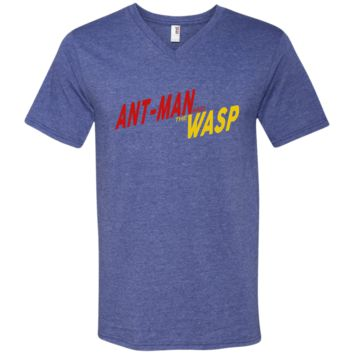 ANT-MAN AND THE WASP t shirt 982 Anvil Men's Printed V-Neck T-Shirt