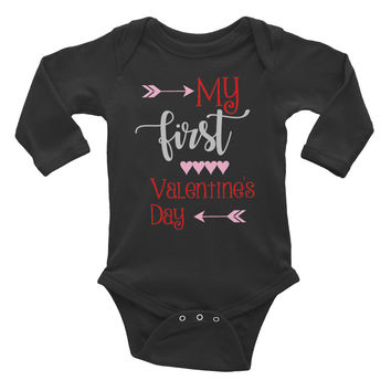 Infant long sleeve one-piece