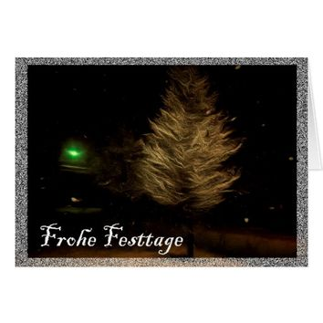 Frohe Festtage Card