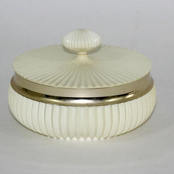 "Vintage Avon Powder Box | ""Sonnet"" Beauty Dust 