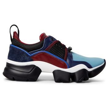 Neoprene and Suede Mesh Sneakers by Givenchy