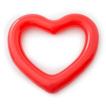 ban.do Women's Beach, Please! Jumbo Heart Inner Tube