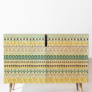 Heather Dutton Boho Market Stripe Credenza