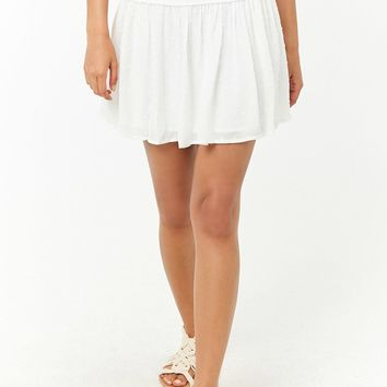 Embroidered Trim Skirt