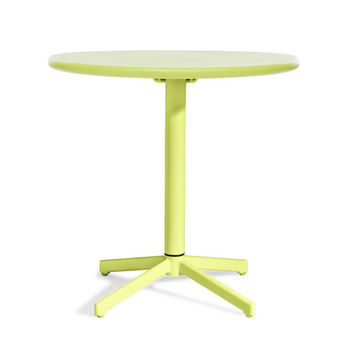 Folding Breakfast Table in Green