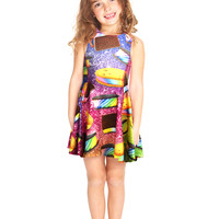 Kids Ice Cream Sandwich Skater Dress