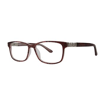 Dana Buchman - Kay 54mm Terra Cotta Eyeglasses / Demo Lenses