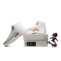 "Air Jordan 12 Retro ""OVO"" White"