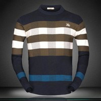 DCCKNY1Q Boys & Men Burberry Fashion Casual Top Sweater Pullover