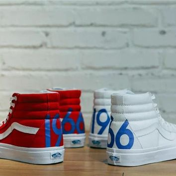 Vans Sk8-Hi 1966 Skateboarding Shoes Size 36-44