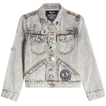 Embellished Denim Jacket - Marc Jacobs | WOMEN | KR STYLEBOP.COM